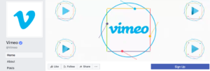 Vimeo facebook cover video