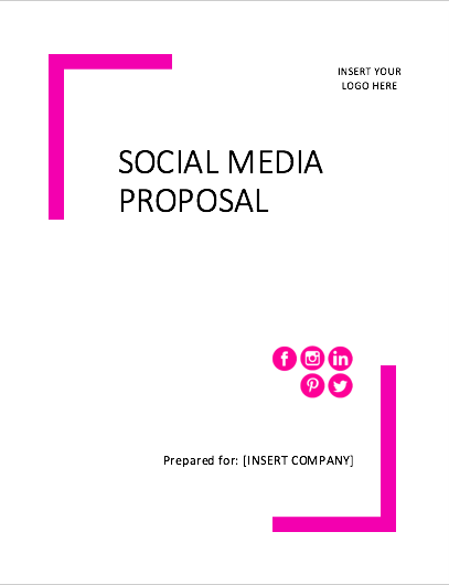 social biz bundle - social media proposal template
