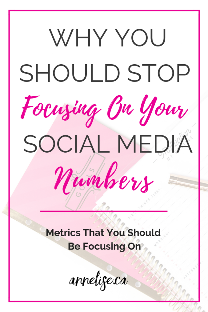 stop focusing on your social media numbers