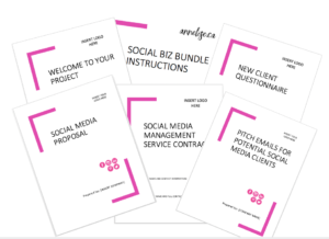 social biz bundle - social media templates