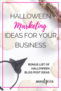 halloween marketing ideas